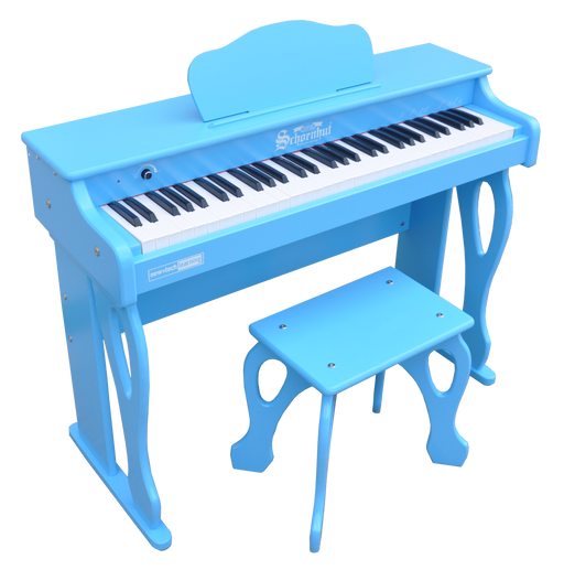 Schoenhut My First Piano Tutor 61-Key Blue - Zacca store