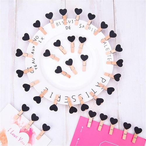 Heart Clips Wall Deco DIY (10 pcs / set) - Zacca store