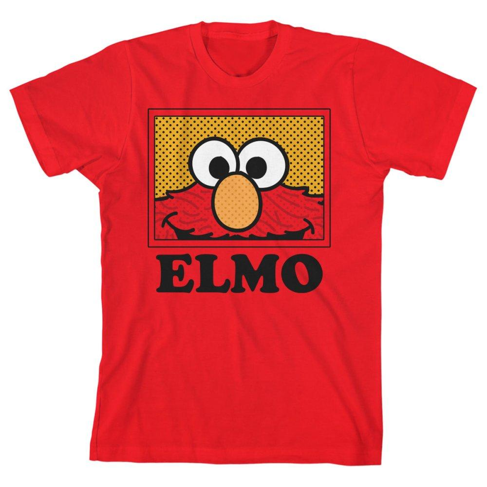 Boys Elmo Shirt Kids Clothing Sesame Street Apparel - Zacca store