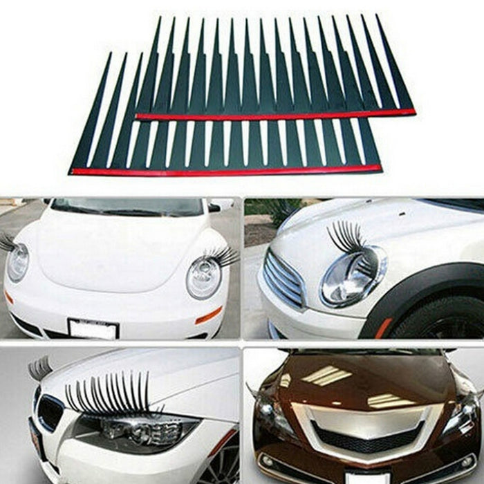 Car Eyelash Headlight Decoration - Zacca store