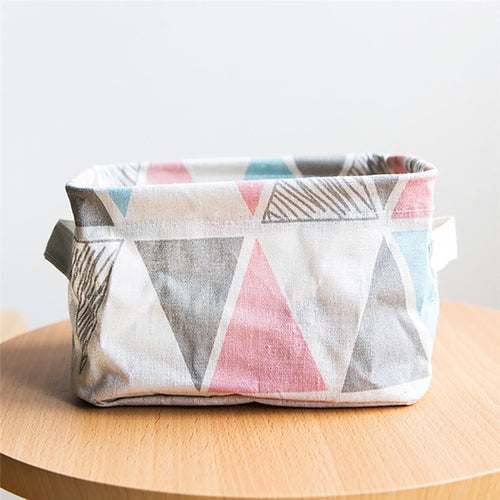 Foldable Storage Fabric Box Container - Zacca store