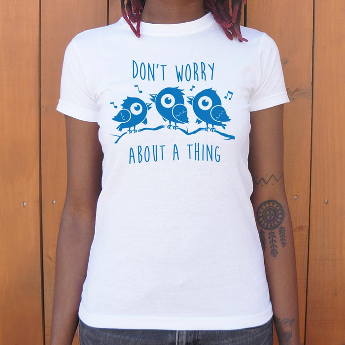 Three Little Birds T-Shirt (Ladies) - Zacca store