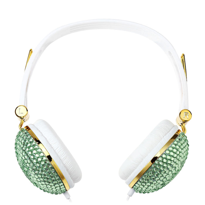 Crystal Beads Rhinestone Headphones with Anti-noise - Zacca store