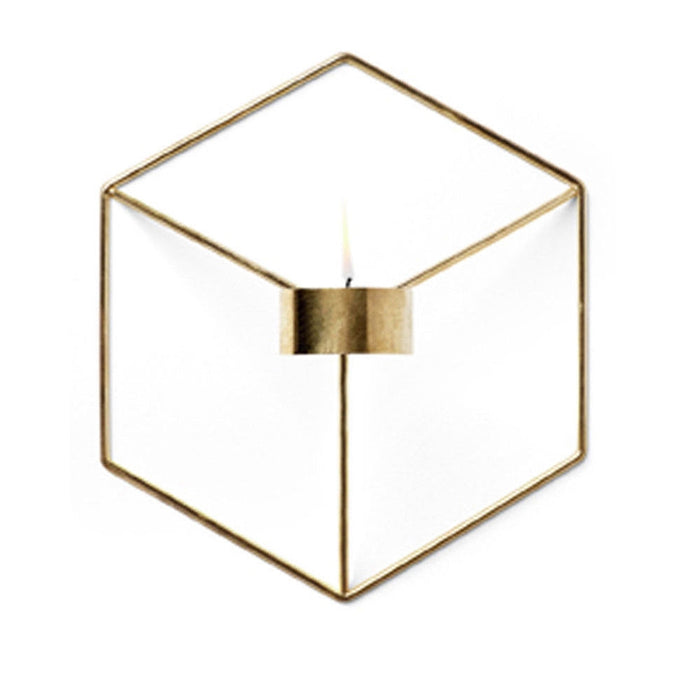 Geometric Style Candle Holder Decorative Candlestick - Zacca store