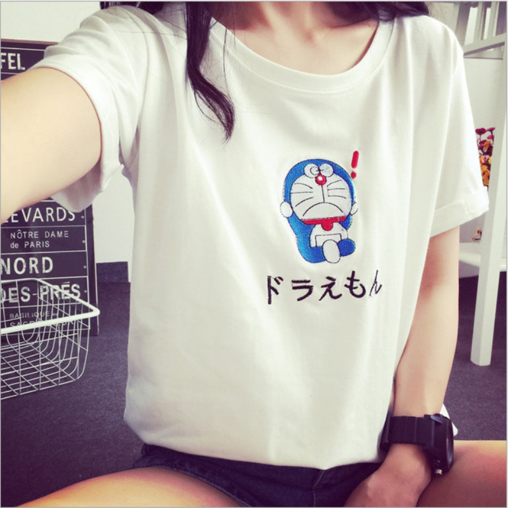 Doraemon Short Sleeve T-Shirt - Zacca store