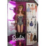 バービー35周年記念 1959復刻版 Barbie 35th Anniversary Special Edition Reproduction of Original 1959 Barbie Doll & Package (1993) - Blonde Hair - Zacca store