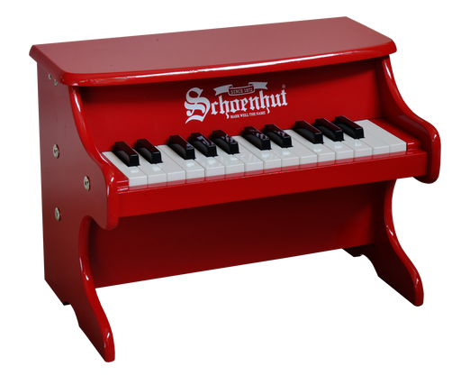 Schoenhut My First Piano II 25-Key Red