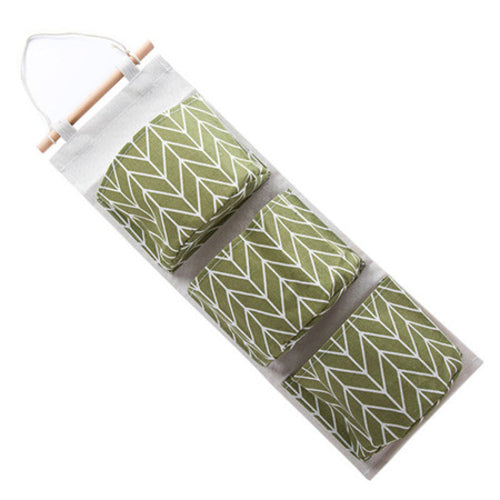 Wall Hanging 3 Pockets Storage Bag - Zacca store