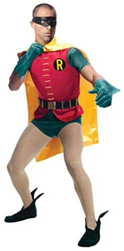 バットマン・ロビン ハロウィーンコスチューム大人用 Rubie's Costume Grand Heritage Robin Classic TV Batman Circa 1966 Costume