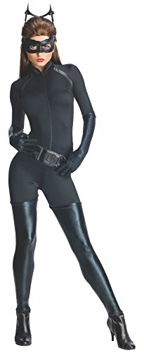 キャットウーマン大人用コスチューム Secret Wishes Women's Dark Knight Rises Adult Catwoman Costume