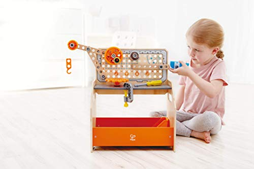 キッズ 建築用ワークベンチ Hape Discovery Scientific Workbench | Kids Construction Toy - Zacca store