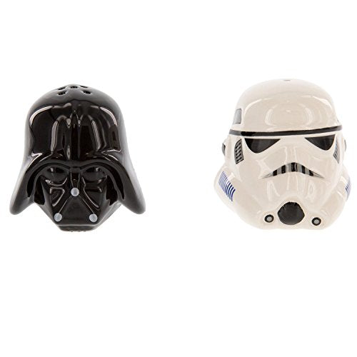 スターウォーズ ソルト&ペッパー シェーカー Star Wars Ceramic Salt and Pepper Shakers - Darth Vader & Stormtrooper