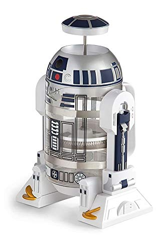 スターウォーズ コーヒー/ティーメーカー・ティープレス ThinkGeek Star Wars Coffee Press R2D2 Limited Edition 4 Cup French Press - Includes Glass Carafe