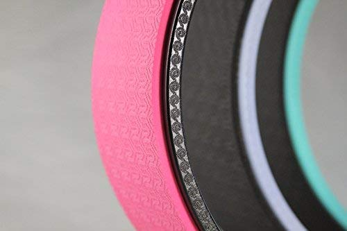 ヨガホイールプロシリーズ ダルマヨガ SukhaMat Yoga Wheel - Pro Series - 12.5 x 5 Inch Basic (Black/Pink) - Zacca store