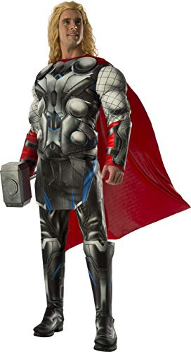 アベンジャーズ ハロウィーンコスチューム大人用 Rubie's Men's Avengers 2 Age of Ultron Deluxe Adult Thor Costume
