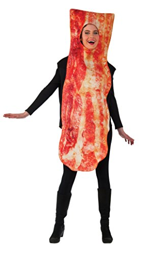 ベーコン コスチューム大人用 Rubie's Men's Bacon Costume, Multi, One Size