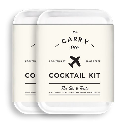 機内持ち込みカクテルセット W&P MAS-CARRY-KIT Carry on Cocktail Kit, Old Fashioned Travel Kit for Drinks on the Go TSA Approved