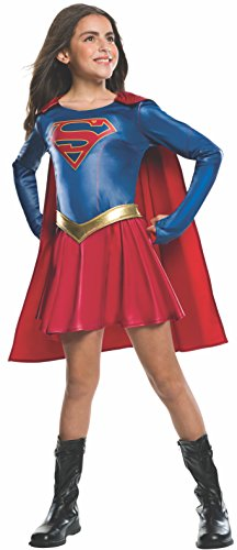 スーパーガール コスチューム 子供用 Rubie's Costume Kids Supergirl TV Show Costume, Small