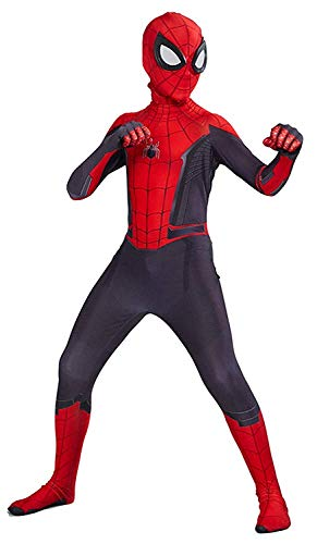スパイダーマン 子供用コスチューム Snow Flying Kids Lycra Spandex Zentai Halloween Cosplay Costume Jumpsuit Suit Red - Zacca store