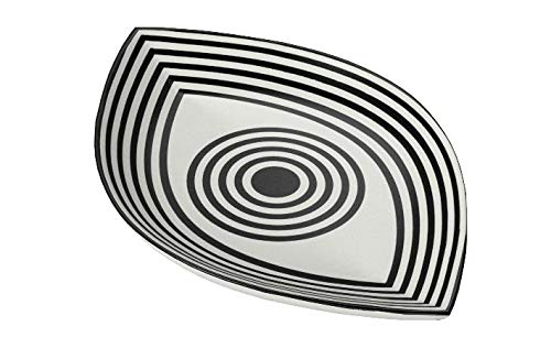 ジョナサン・アドラー  ウインクトリンケットトレイ Now House by Jonathan Adler Wink Trinket Tray, Black and White - Zacca store