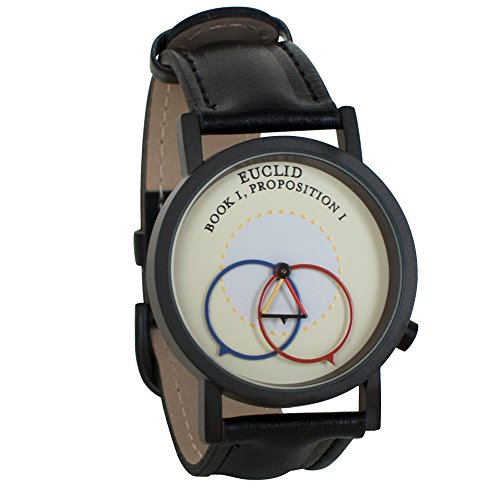 ユークリッド幾何学 Euclidian Geometry Euclid Unisex Analog Watch