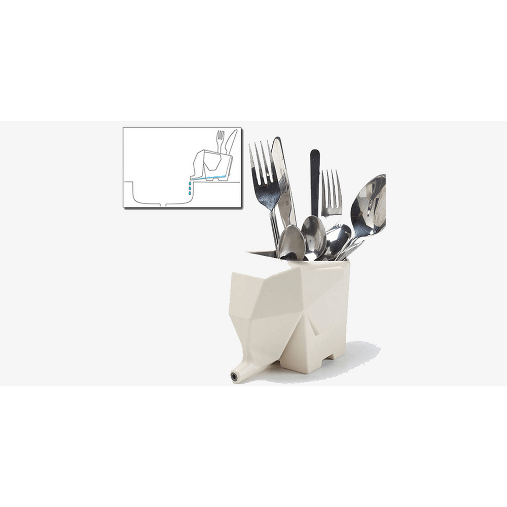 Elephant Cutlery Drainer (Shipped from USA) - Zacca store