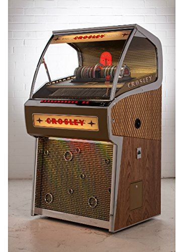ロケット CDジュークボックス Rocket Full Size CD Jukebox with Bluetooth - Holds 80 CDs