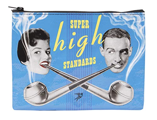 スーパーハイ ポーチ Blue Q Bags, Zipper Pouch, Super High Standards - Zacca store