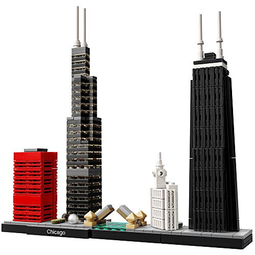 レゴ 建築シリーズ シカゴ LEGO Architecture Chicago 21033 Skyline Building Blocks Set (444 pieces)