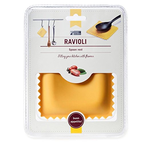 ラビニア型おたまホルダー Ravioli Silicone Novelty Spoon Rest for Stove and Tabletop