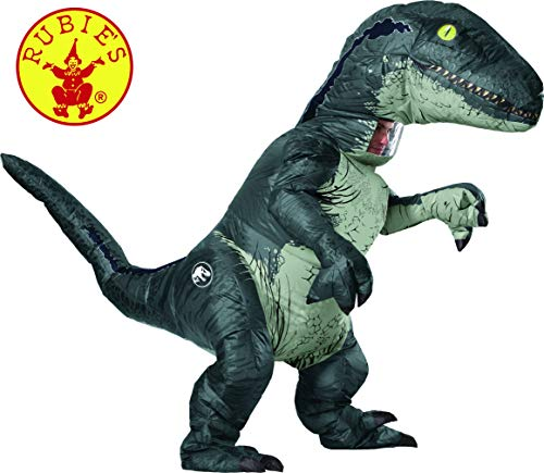 ジュラシックワールド恐竜コスチューム Rubie's Adult Official Jurassic World Inflatable Dinosaur Costume, T-Rex, Standard: