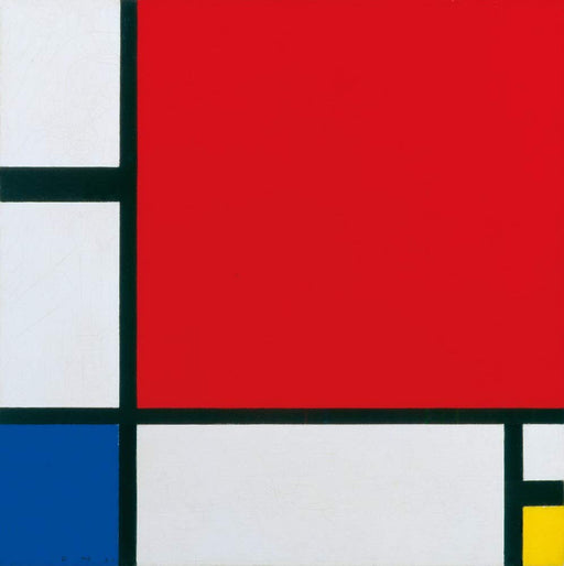 アートポスター Berkin Arts Piet Mondrian Giclee Art Paper Print Art Works Paintings Poster Reproduction(Composition with Red, Blue and Yellow) - Zacca store