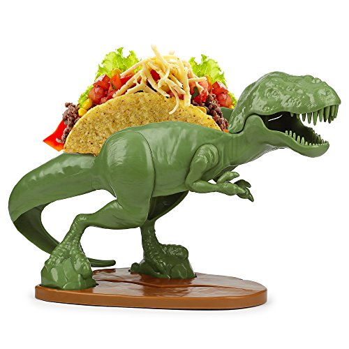 恐竜タコスホルダー Barbuzzo TACOsaurus Rex Taco Holder - The Ultimate Prehistoric Taco Stand for Jurassic Taco Tuesdays and Dinosaur Parties