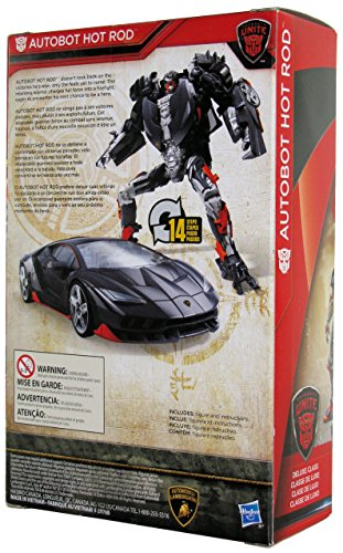 トランスフォーマー ウォルマート限定 Transformers The Last Knight Walmart Exclusive Autobots Unite Deluxe Autobot Hot Rod - Zacca store