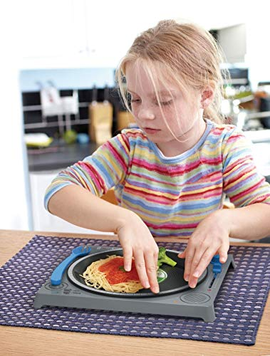 子供用 DJターンテーブル型 ディナープレート Fred DINNER DJ Kids' Dining Set: Dinner Plates