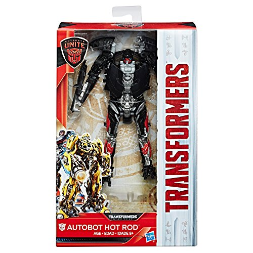 トランスフォーマー ウォルマート限定 Transformers The Last Knight Walmart Exclusive Autobots Unite Deluxe Autobot Hot Rod