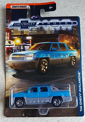 マッチボックス・シボレー100周年ウォールマート限定 2018 Matchbox Chevrolet 100 Years Trucks Walmart Exclusive - '02 Chevy Avalanche