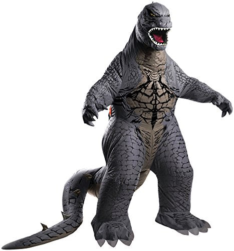 ゴジラ ハロウィーンコスチューム・着ぐるみ大人用 Rubie's Men's Godzilla Adult Inflatable Air Blown, Multicolor, Standard