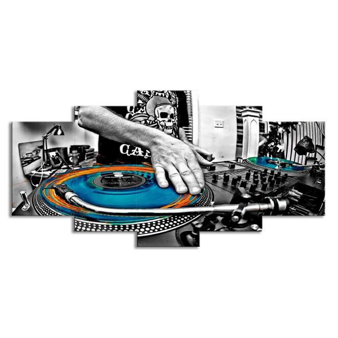 DJ Set Wall Art Canvas Prints - Zacca store