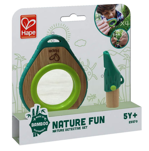 Hape Nature Detective Set| Bamboo & Plant Plastic Detective Playset, Nature Exploration Toys for Outdoor Games - Zacca store