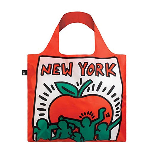 ローキー キース・ヘリング エコバッグ LOQI Museum Keith Haring's New York Reusable Shopping Bag