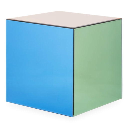 ジョナサン・アドラー  キューブアクセントテーブル Now House by Jonathan Adler Chroma Cube Accent Table, Multicolor - Zacca store