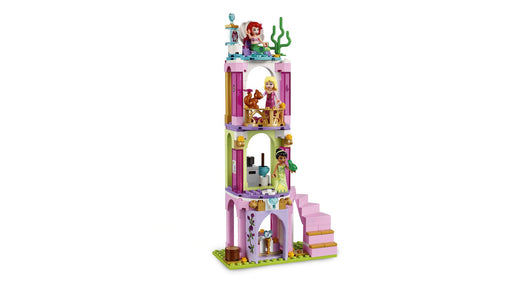 LEGO アリエル・オーロラ姫・ティアナのプリンセスパーティ Disney Aurora, Ariel and Tiana's Royal Celebration 41162 Building Kit, 2019 (282 Pieces) - Zacca store