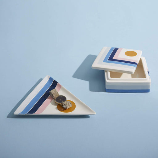 ジョナサン・アドラー  マイアミトリンケットトレイ Now House by Jonathan Adler Miami Trinket Tray, Multicolored - Zacca store