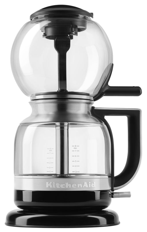 KitchenAid サイフォン型コーヒーメーカー KCM0812OB Siphon Coffee Brewer, Onyx Black, 2.3 - Zacca store