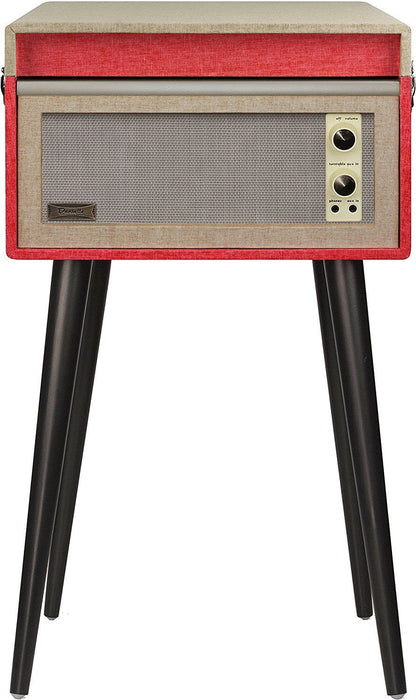 Crosley CR6233D-RE Bermuda Turntable with Bluetooth Red