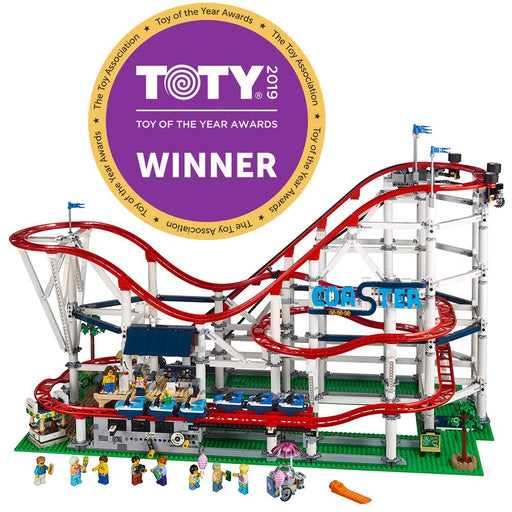 LEGO 絶叫ローラーコースター Creator Expert Roller Coaster 10261 Building Kit, 2019 (4124 Pieces) - Zacca store