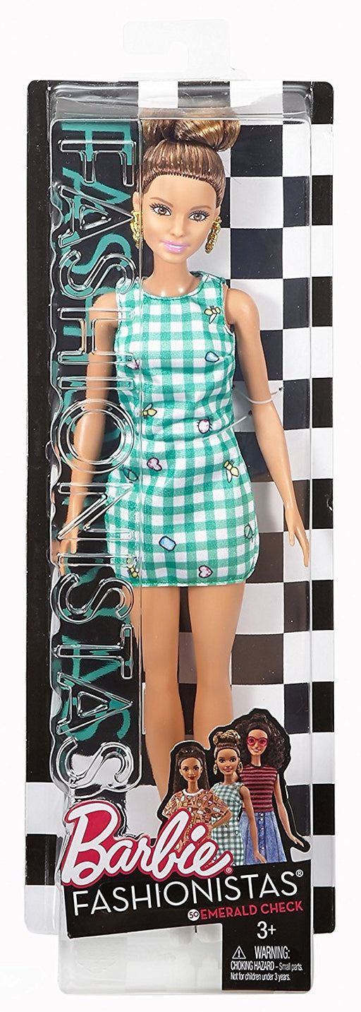 バービーファッショニスタ Barbie Fashionistas 50 Emerald Check Doll - Zacca store