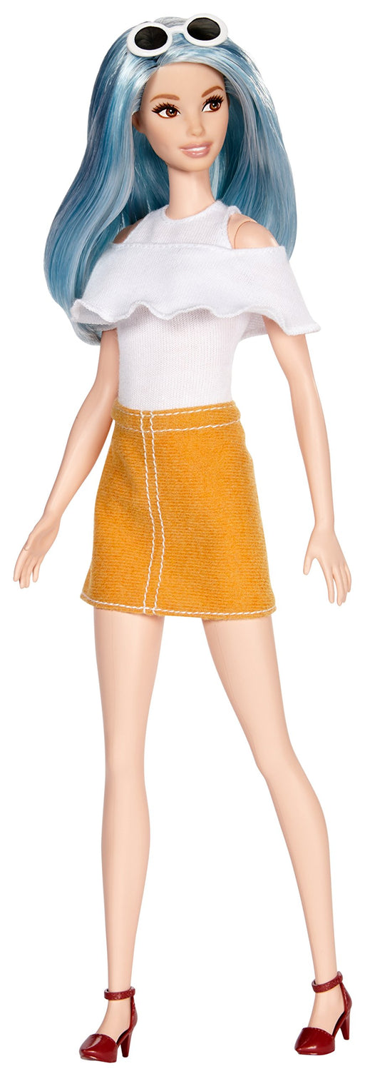 バービー ファッショニスタ 69 Barbie Fashionistas 69 Blue Beauty Doll, Tall - Zacca store