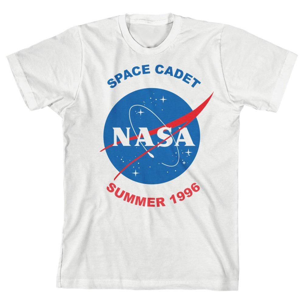 Boys NASA Shirt Youth Space Cadet TShirt Kids Apparel - Zacca store